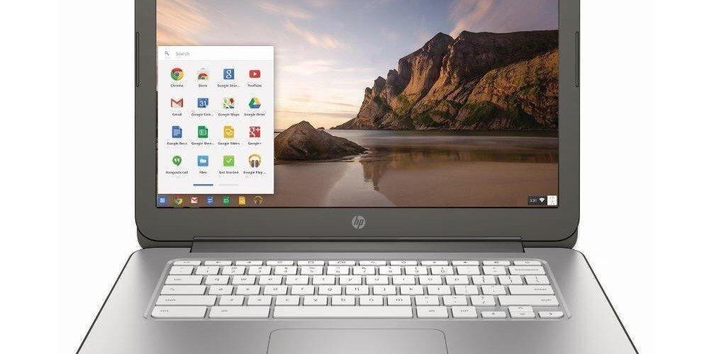 hp chromebook chrome os google
