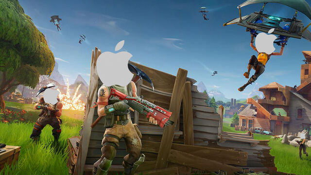 Fortnite para iPhone.